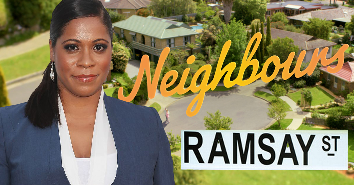 Neighbours Actor Cops Barrage Of Abuse After Calling Out On-set Racism